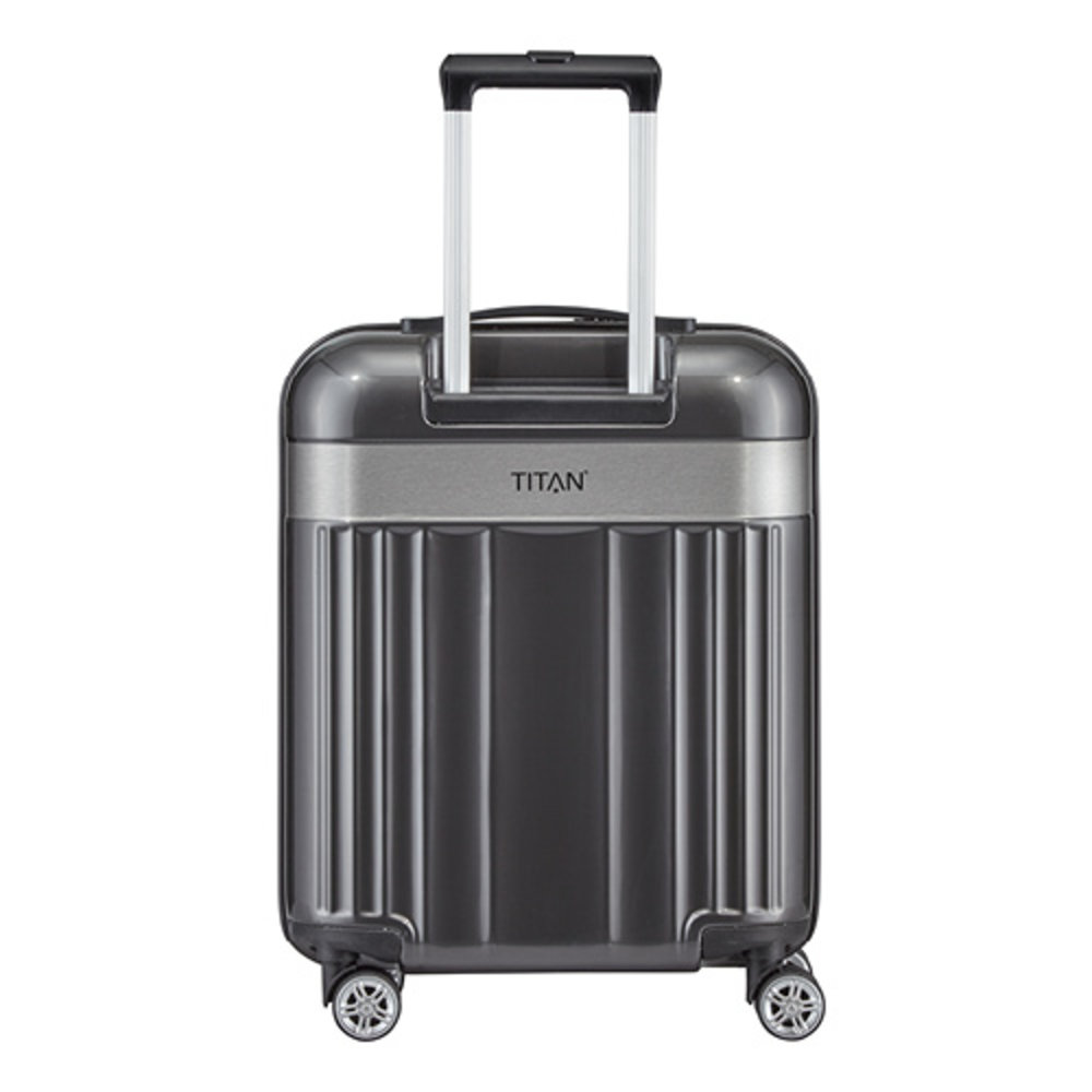 TITAN 4-Rollen-Trolley Spotlight Flash, 55cm, anthrazit